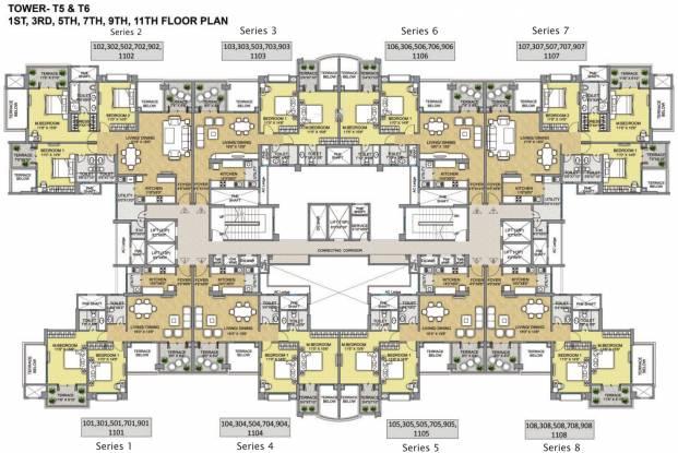 Raheja Raheja Vistas Premiere Cluster Plan