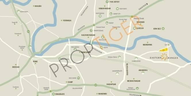 Phadnis Eastern Ranges Location Plan