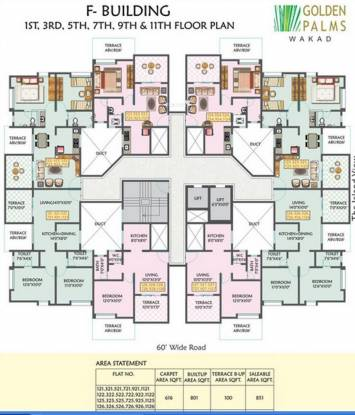 OM Golden Palms Cluster Plan