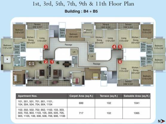 Kumar Primavera Cluster Plan