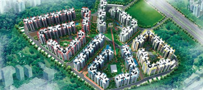 BCC Bharat City Elevation