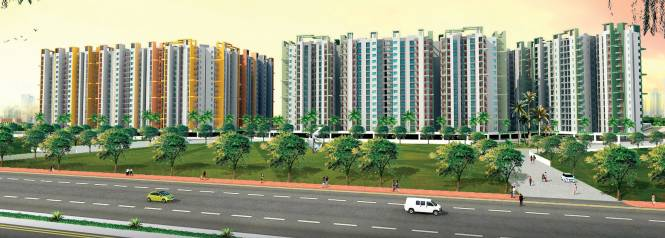 BCC Bharat City Elevation