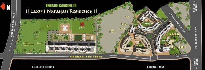 Raunak Laxmi Narayan Residency Site Plan