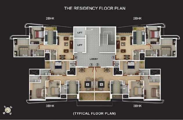 Vijay Vijay Residency Cluster Plan