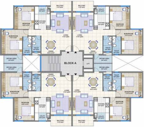Legacy Ariston Cluster Plan