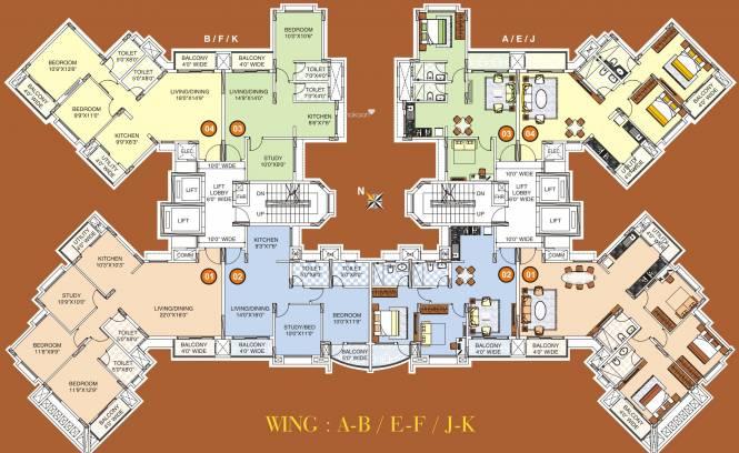 Kumar Princetown Cluster Plan