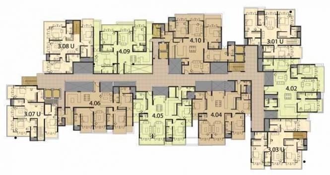 Century Renata Cluster Plan