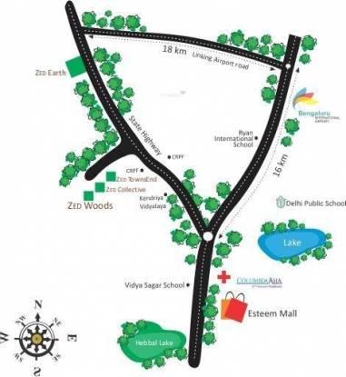 ZED Woods Location Plan