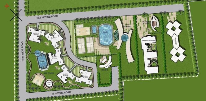 Ramprastha Rise Master Plan