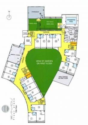 Siddha Xanadu Studio Cluster Plan