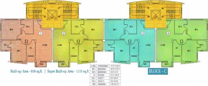 Fort Sunny Fort Cluster Plan