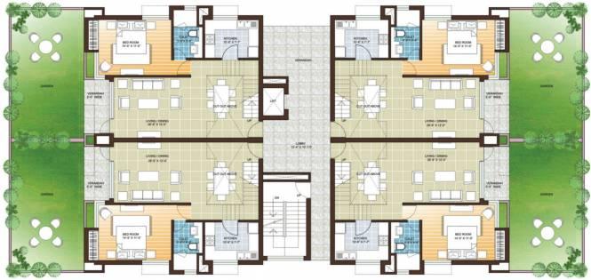 Vedic Sanjeeva Gardens Cluster Plan