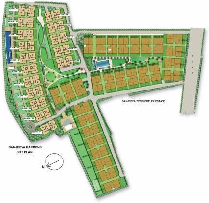 Vedic Sanjeeva Gardens Site Plan