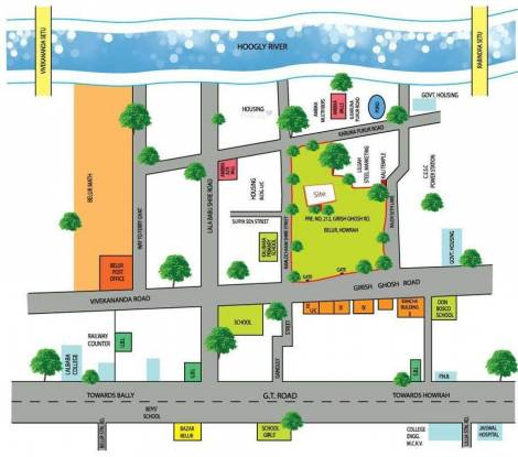 Forum Pravesh Location Plan