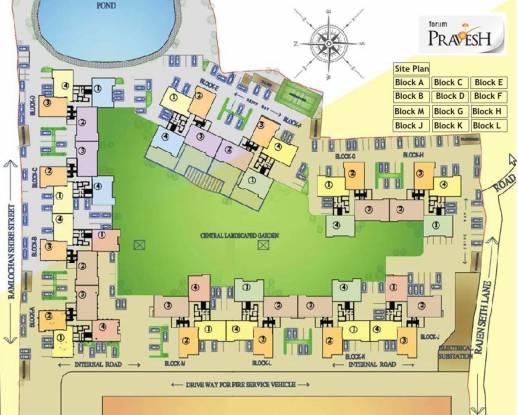 Forum Pravesh Site Plan