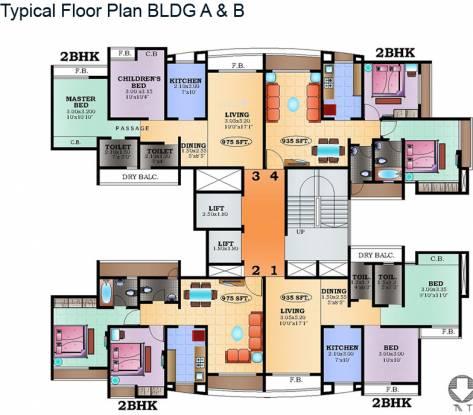 SD Prity Park Cluster Plan