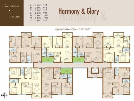 Rajarathnam Royal Grande Cluster Plan