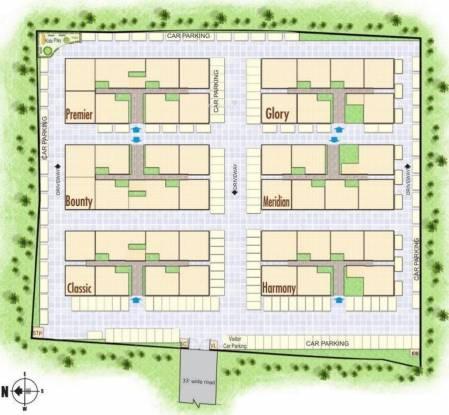 Rajarathnam Royal Grande Site Plan