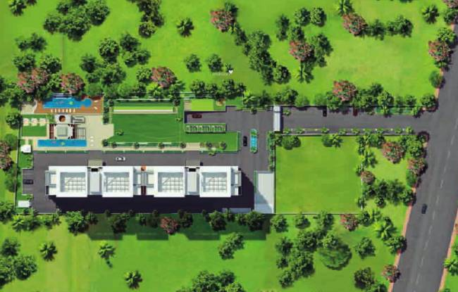 Kasturi The Balmoral Estate Layout Plan
