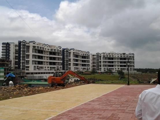 Geras Greens Ville Sky Villas Construction Status