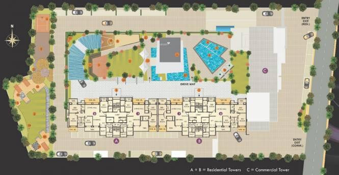 Kool Homes Galaxy Site Plan