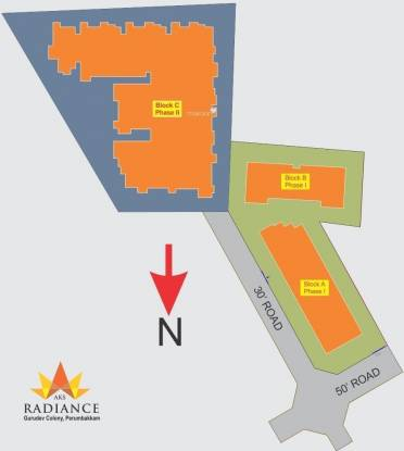AKS Radiance Site Plan