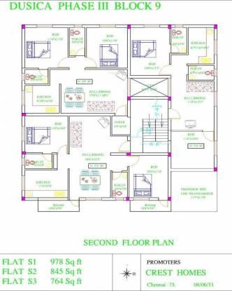 Crest Crest Dusica Phase III Cluster Plan