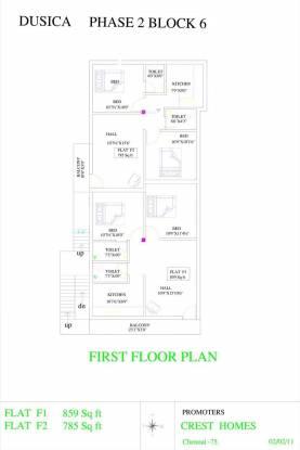 Crest Dusica Phase II Cluster Plan