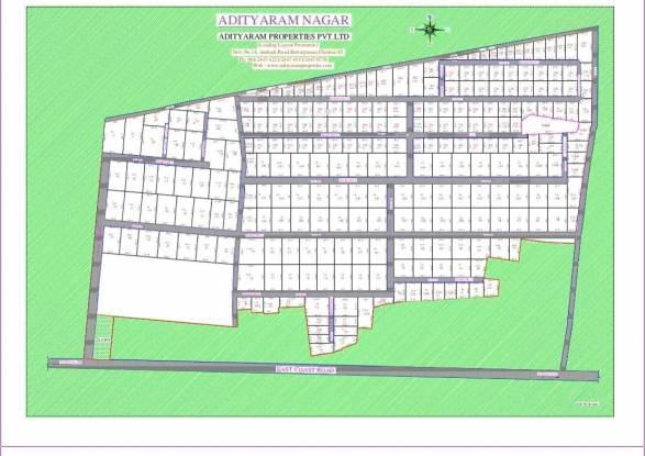 Adityaram Nagar Layout Plan
