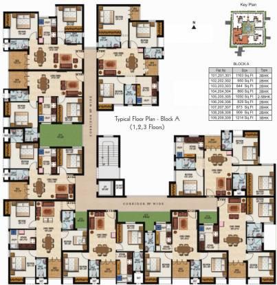 Malles Arcadiaa Cluster Plan