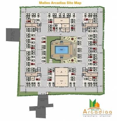 Malles Arcadiaa Site Plan