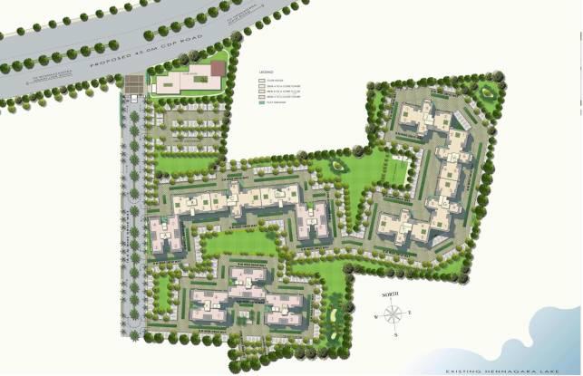 DLF Maiden Heights at My Town Site Plan