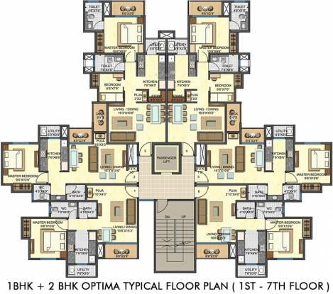 Lodha Casa Rio Gold Cluster Plan