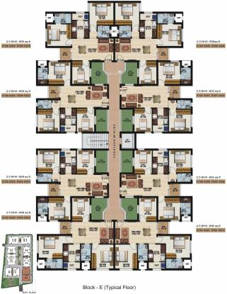 Sidharth Dakshin Cluster Plan
