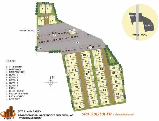 M2 Sai Krishna Site Plan