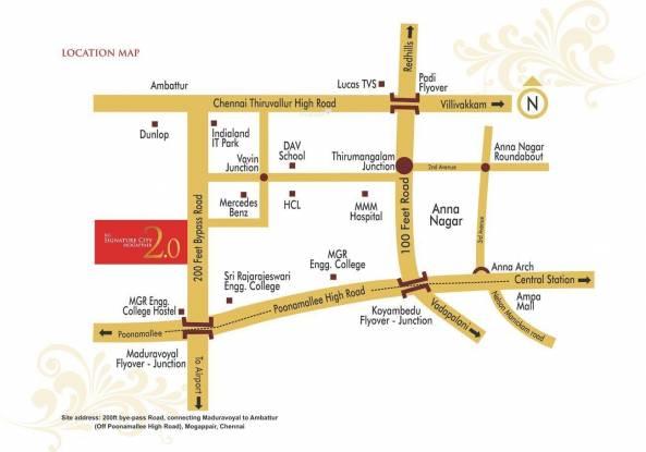 KG Signature City Location Plan