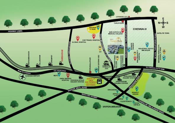 Shriram Shankari Location Plan