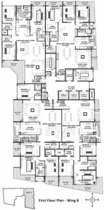 Godrej Platinum Cluster Plan