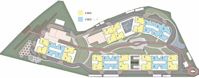 Embassy Pristine Layout Plan