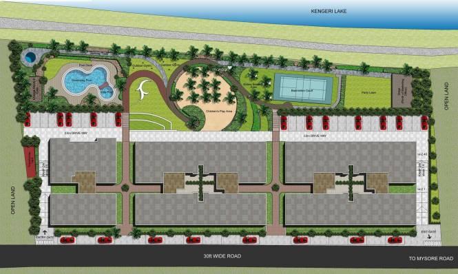 DRA Ranka Aquagreens Site Plan
