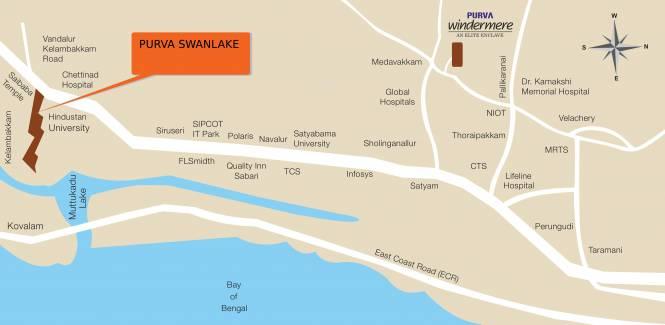 Purva Swanlake Location Plan