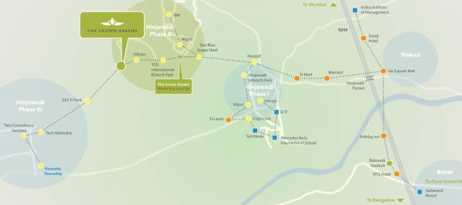 TCG The Crown Greens Location Plan