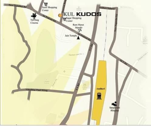 KUL Kudos Location Plan