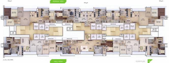 Transcon Tirumala Habitats Cluster Plan