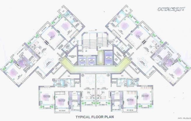 Lokhandwala Octacrest Cluster Plan
