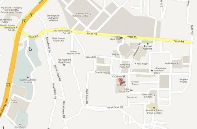 Lokhandwala Octacrest Location Plan
