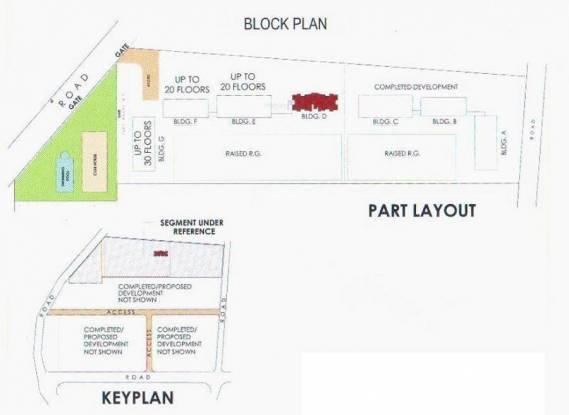 Raheja Interface Heights Layout Plan