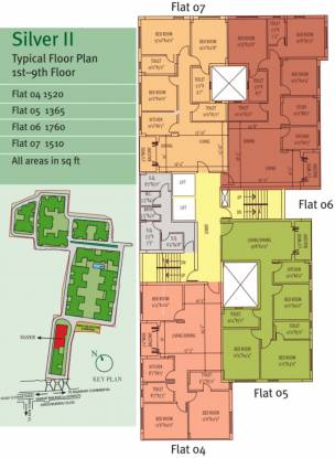 Siddha Silver Pines Cluster Plan