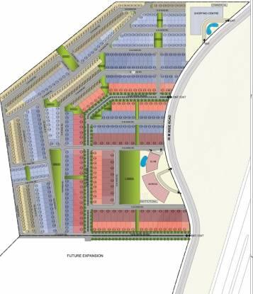 3C Lotus City Layout Plan