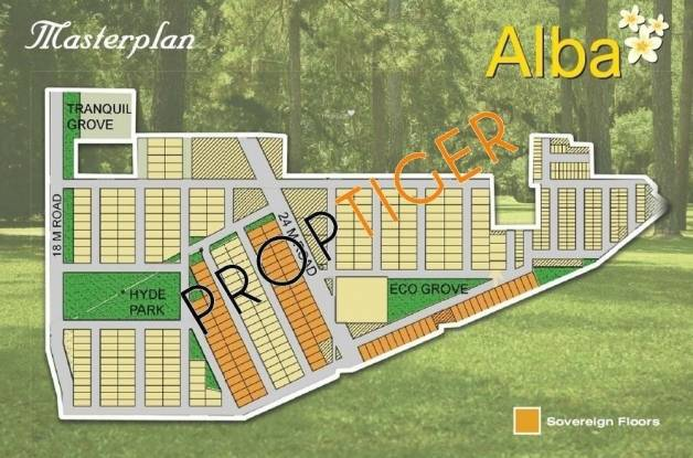 Ansal Sovereign Floors Layout Plan